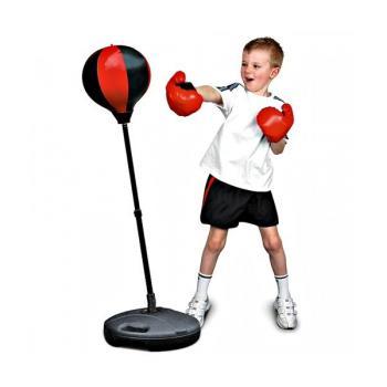 Детская боксерская груша с перчатками