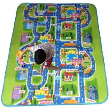 Детский развивающий коврик для игр на полу