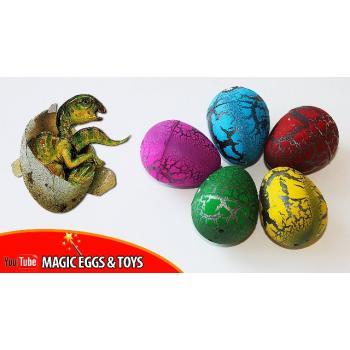 Динозавр растущая в воде - Яйцо с сюрпризом