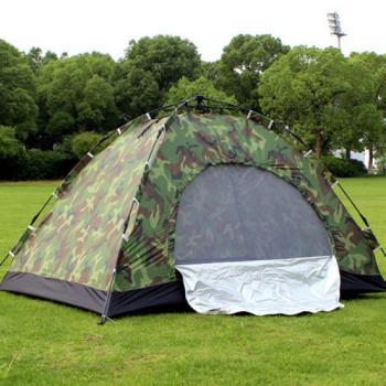 Автоматическая туристическая палатка на 3-4 человека