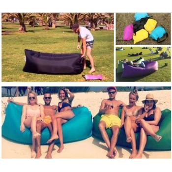 Lamzac Hangout - надувной диван, шезлонг, кресло, гамак, лежак