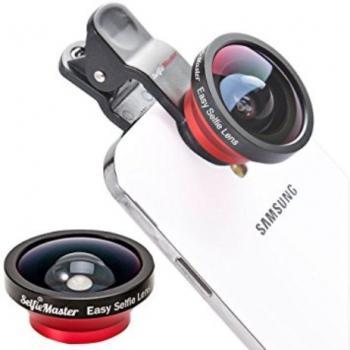 Смарт линзы для смартфона 3в1 (широкоугольный, рыбий глаз, макро)