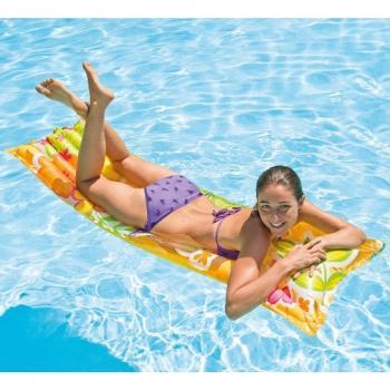 Надувной матрас в бассейн 183*69 см