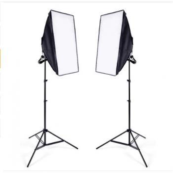 Набор постоянного студийного света - Освещение для фотостудии, Софтбокс