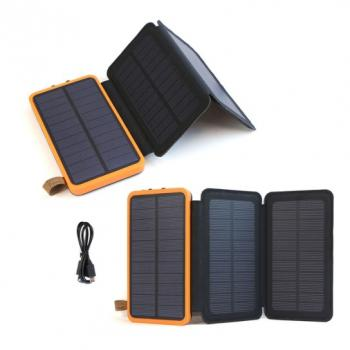 Портативное зарядное устройство на солнечной батарее 20000мАч