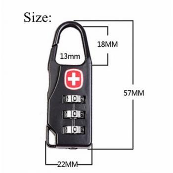 Кодовый замок на чемодан багаж