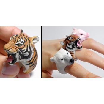 Кольца в виде животных от Дзиро Миура