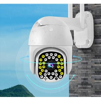 Уличная IP камера видеонаблюдения 4G SIM поворотная