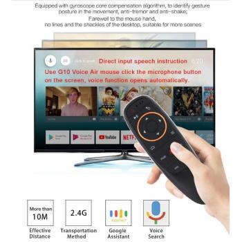 Аэромышь Пульт с голосовым поиском для Андроид и Смарт ТВ