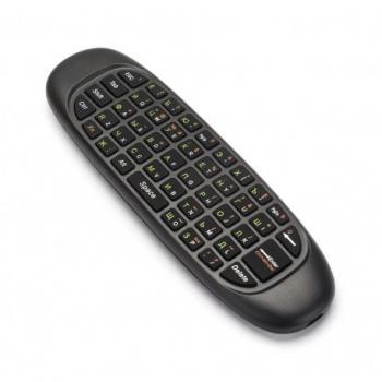 Гироскопная аэромышь Пульт с клавиатурой для приставок и Smart TV