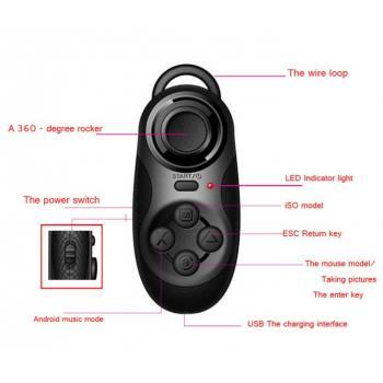 Беспроводной блютуз джойстик для Smart TV, VR очков