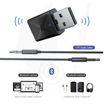 Stereo Bluetooth AUX приемник + передатчик