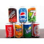 Банка Coca-Cola, Pepsi, Fanta с MP3 плеером и FM радио