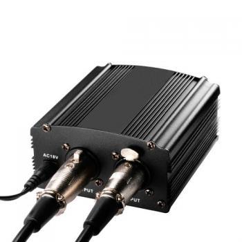 Фантомное питание 48V для конденсаторного микрофона