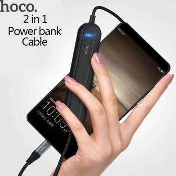 Дата кабель Hoco USB Type C - Power Bank кабель 2000 mah