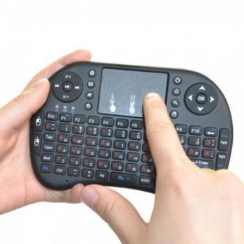 Беспроводная мини клавиатура с тачпадом