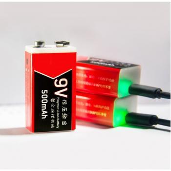 Аккумулятор крона 9v с зарядкой от USB