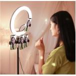 Кольцевая лампа для макияжа, селфи лампа, лампа для блогера 33/36/45/52см