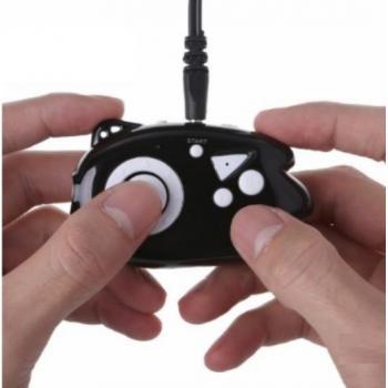 Беспроводной мини геймпад - джойстик, аэромышь для ПК, Смарт ТВ, сэлфи кнопка