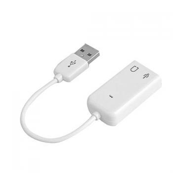 Внешняя звуковая карта USB sound card