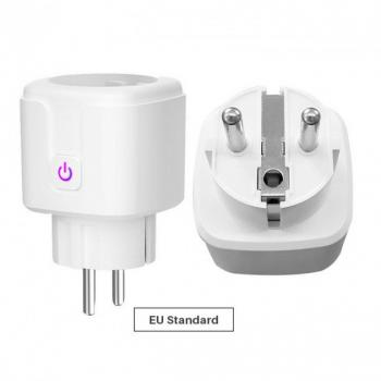 Умная Wi-Fi Розетка с поддержкой голосового управления Alexa / Google Home, 16A