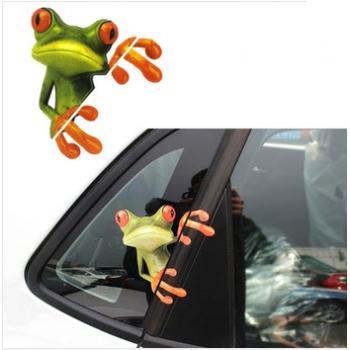 3D наклейки на авто Crazy Frog