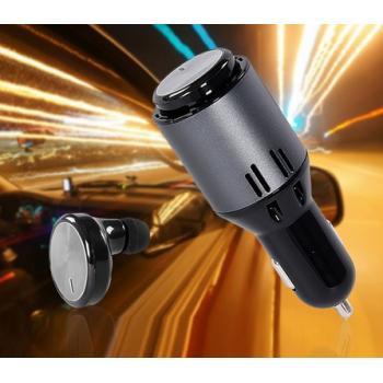Автомобильное зарядное устройство с Bluetooth гарнитурой