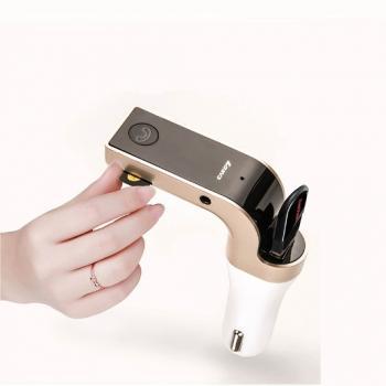 FM модулятор автомобильный MP3 Bluetooth AUX USB micrSD
