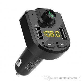FM-трансмиттер автомобильный Bluetooth