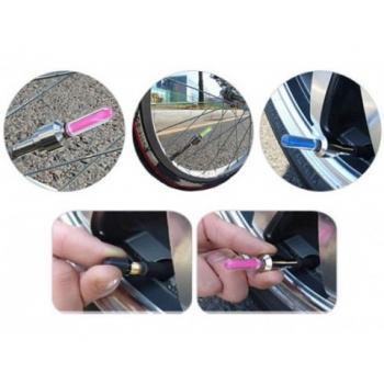 Светодиодные колпачки на колеса (LED насадка на ниппель)