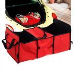 Органайзер - сумка с термоотсеком в багажник автомобиля