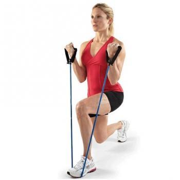 Эспандер фитнес резинка тренажер (средняя нагрузка)