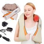 Вибрационно ударный массажер для шеи, плеч и тела Cervical Massage Shawls