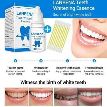 Отбеливающая эссенция для зубов Lanbena