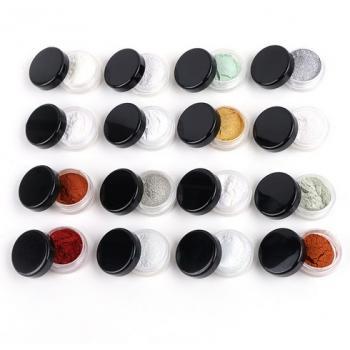 Зеркальная пудра для ногтей - Зеркальный маникюр