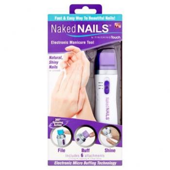 Машинка для полировки и шлифовки ногтей Naked Nails