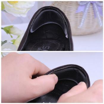 Гелевые стельки на задник обуви для защиты от натирания