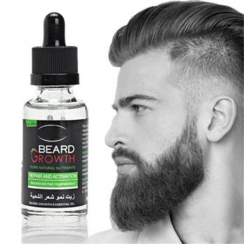 Масло-активатор роста бороды и усов Beard Growth