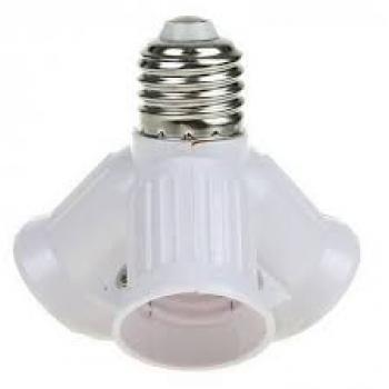 Разветвитель цоколя Е27 на 4 и 6 лампочек