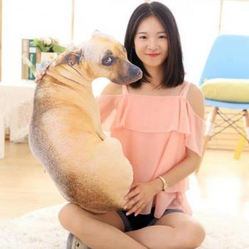 3D подушка в виде милой собаки