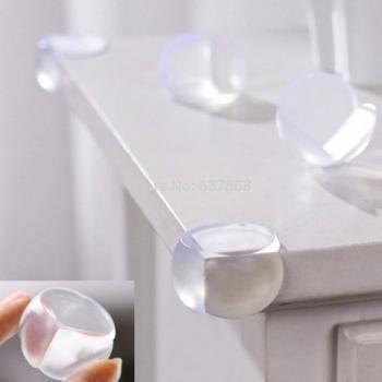 Силиконовые накладки на углы мебели 4шт