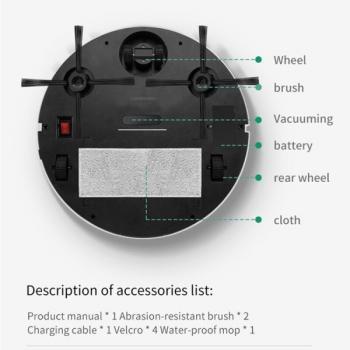 Робот пылесос ES300/ES350