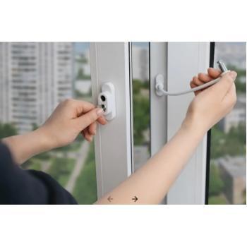 Защита на окна от детей - Замок-блокиратор на окно