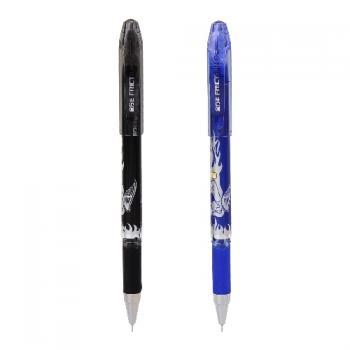 Гелевая ручка со стираемыми чернилами и ластиком