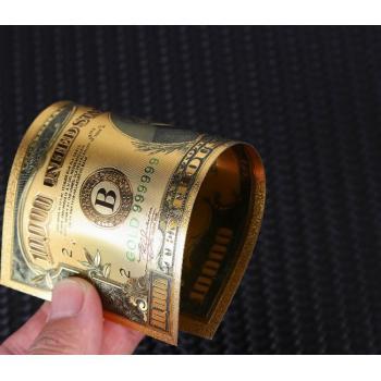 Золотая купюра 10 000 долларов США  серия 1934