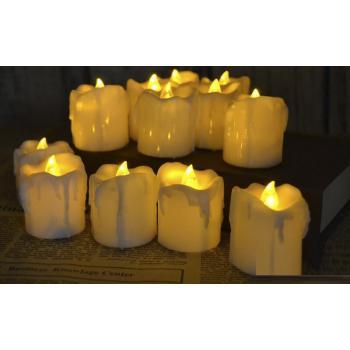 Светодиодная свеча тающая (упаковка 24шт)