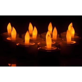 Светодиодные свечи с подзарядкой 12шт