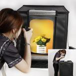 Фотобокс для предметной съемки Lightbox 40x40x40см с LED лампами