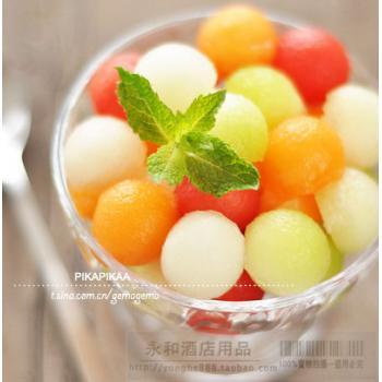 Ложка для вырезания мякоти и декоративной резки фруктов