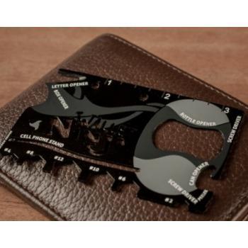 Мультитул кредитка Wallet Ninja 18 в 1